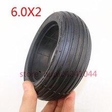 Pneu de roue solide de haute qualité 6.0x2 6 pouces sans pneu de chambre à air pour Scooter électrique, camion de fauteuil roulant, équilibrage électrique