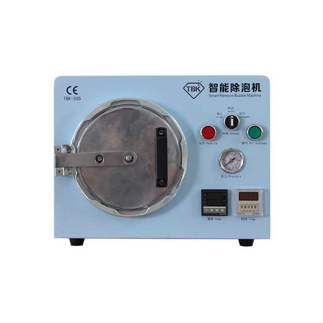 Autoclave Smart Bubble Remove Machine Built-in Air Compressor No Electric Noise For Smart Phone LCD Screen Refurbish