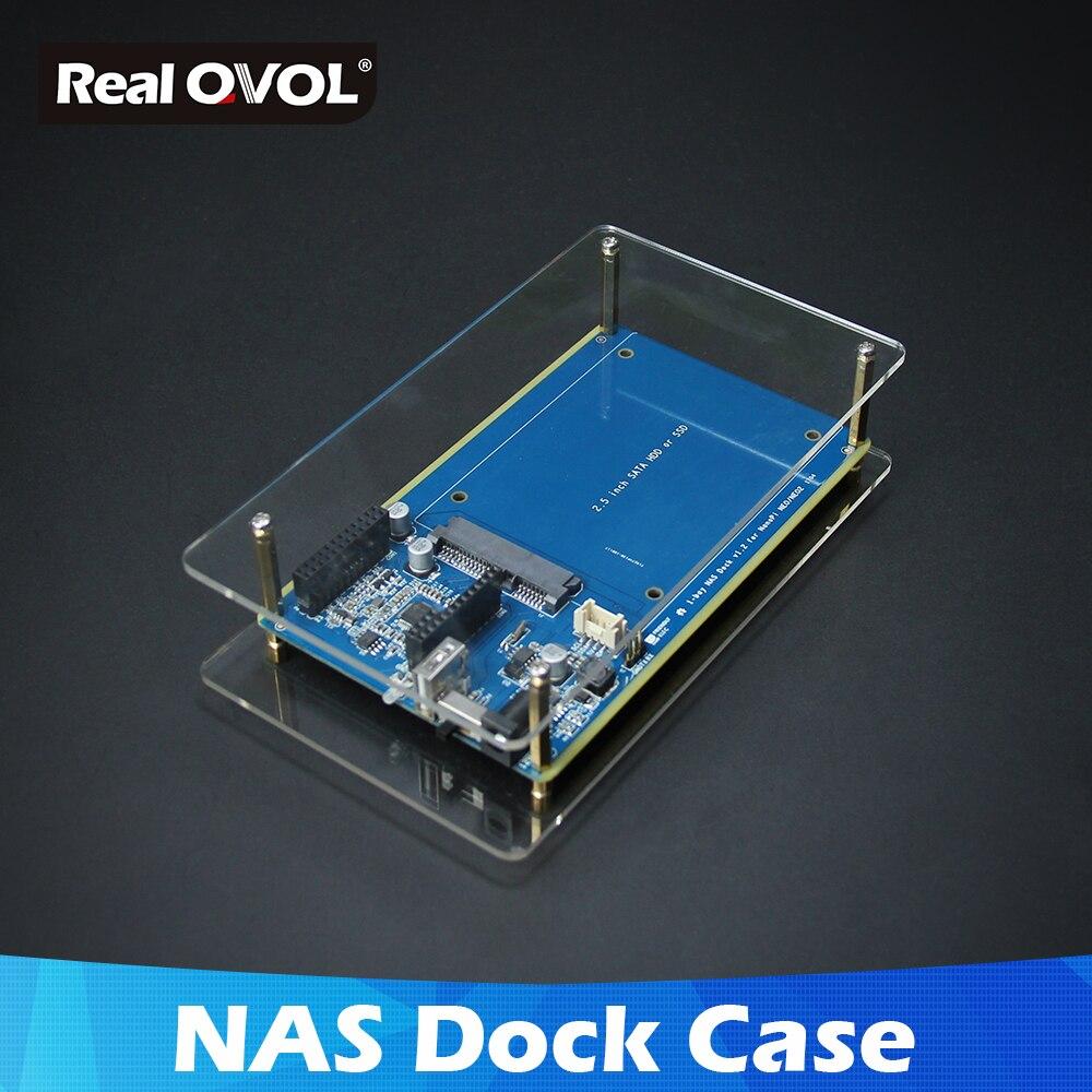 US $13 98 |RealQvol Friendlyarm NAS Kit Shell for NanoPi NEO/NEO2/PLUS2  Aluminum Case OpenMediaVault Ready NanoPi NEO/NEO2 Application-in Demo  Board