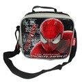 Bolsa de Almuerzo para Los Niños de La Escuela de Dibujos Animados de spider Man Spiderman Mensajero Bolsa de Almuerzo Niños Lonchera Niños Bolsas de Comida de Picnic
