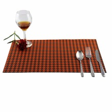Kitchen Accessories Placemats For Table Coaster Tableware Cup Pads Tartan Design Table Mat Dining Supplies Individuales De Mesa