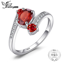 Genuine Garnet Ring Gemstone Solid 925 Sterling Silver 2015 Brand New For Women Hot Sale Fabulous