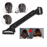 Flaxen Hair Styling Tool Fluffy Hair Tools Fashion Shorter Hair Long Hairstyle Tool
