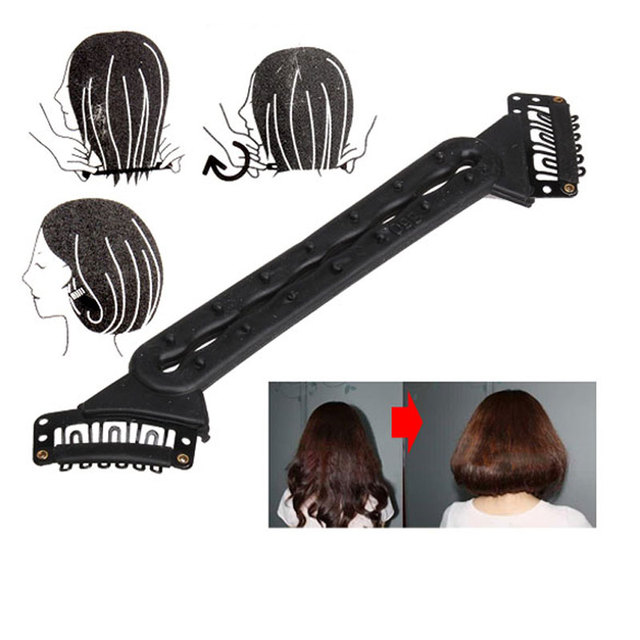 Flaxen Hair Styling Tool Fluffy Hair Tools Fashion Shorter Hair Long ...