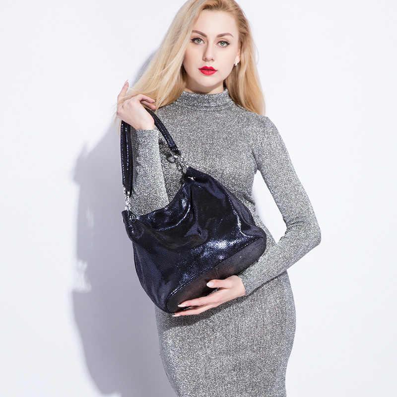 REALER женская сумка на плечо из натуральной кожи, большая сумка с короткими ручками для женщин,  2018 модная сумка женская с животным принтом, женские сумки