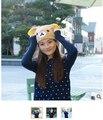 Urso Dos Desenhos Animados suave Plush Chapéus cap/Rilakkuma urso animal Da Forma do Presente Do natal/Atacado/varejo