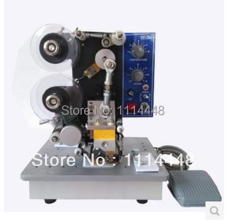 New Semi-automatic Electrical Heating Ribbon Date Coding Printer HP-241B 1pcs zy rm6 semi automatic shoe box coding machine pedal code printer code letter press card embosser printer