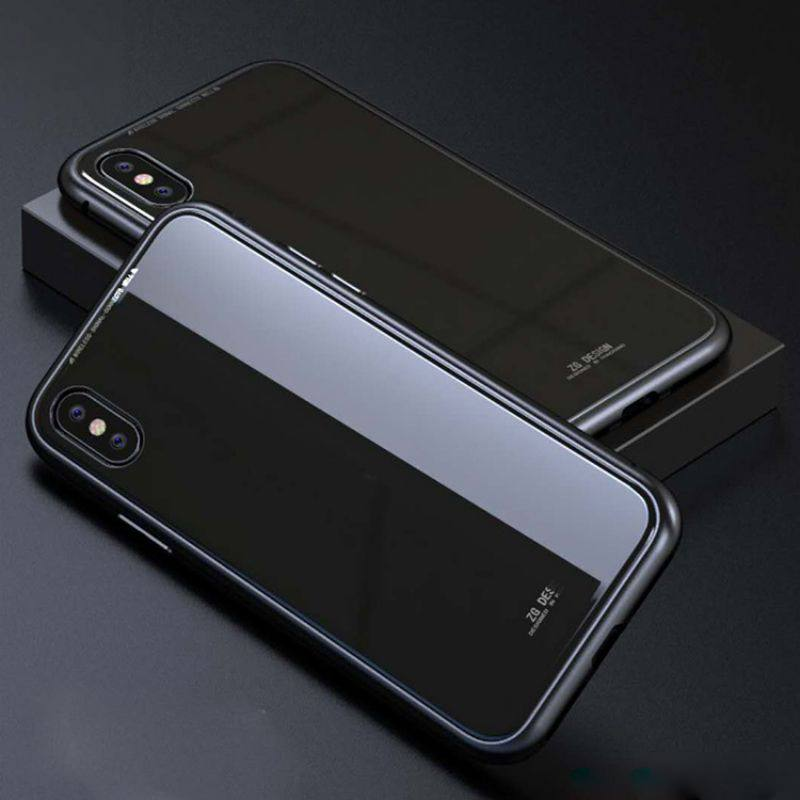 Case Phone-Cover Ultra-Thin Magnetic Metal for X 8/8P 6/6P Bumpers Lightweight Slim-Fit