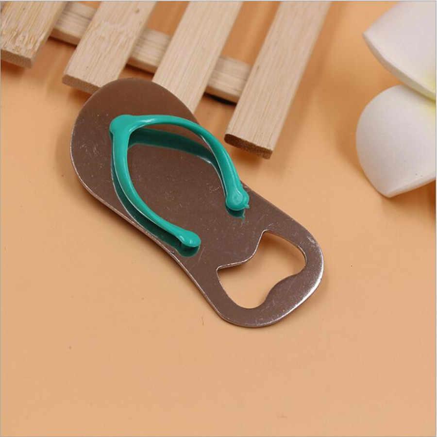 8c422d598 1Pcs Good Quality Beach Flip Flops Bottle Opener Corkscrew Bridal Shower  Wedding Favors