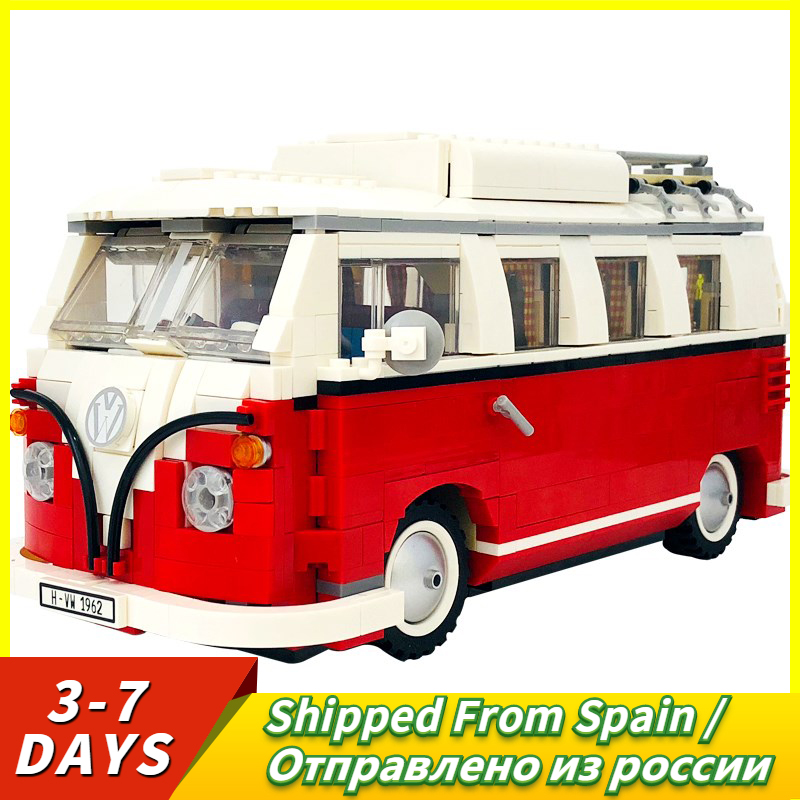 Mailackers Creator Building Blocks Camping Van DIY Model Toys For Children Birthday Gifts Compatible Technic