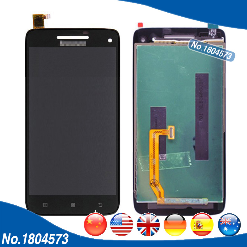 For Lenovo VIBE X S960 LCD Display + Touch Screen Digitizer Front Glass Panel Full LCD Assembly Without Frame 1PC/Lot vibe x2 lcd display touch screen panel with frame digitizer accessories for lenovo vibe x2 smartphone white free shipping track