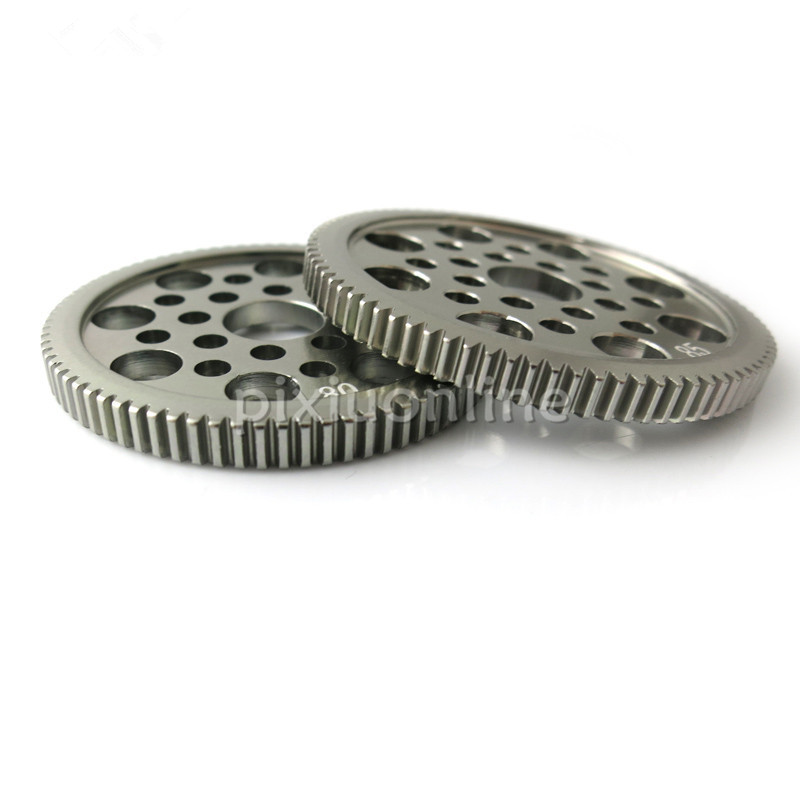 J167b 80/85T Delicate Aluminum Alloy Gear 0.5 Module For DIY Model Making Free Shipping Russia Sell At A Loss