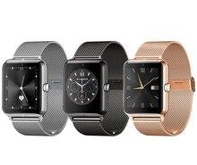 แฟชั่นบลูทูธสมาร์ทนาฬิกาซิมการ์ดดูสมาร์ทเชื่อมต่อนาฬิกาA Ndroid S Mart W Atchกับกล้องสำหรับโทรศัพท์Android