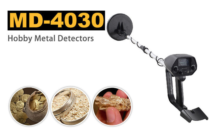 New Arrival Portable Underground Metal Detector MD-4030 Gold Digger Treasure Hunter MD4030 md 6350 underground metal detector gold detectors md6350 treasure hunter detector circuit metales