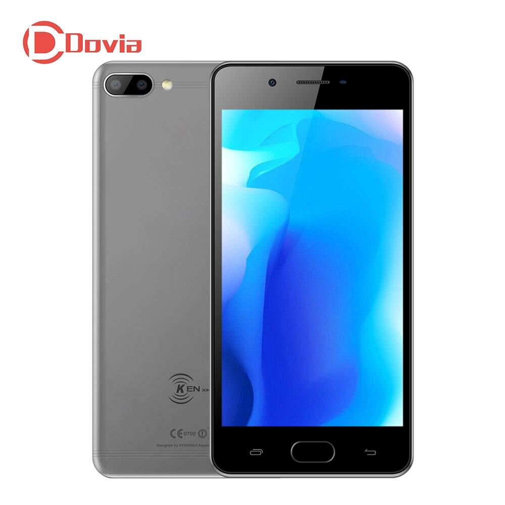 KENXINDA X6 4g Smartphone 5.0 Android 7.0 MTK6737 Quad Core 1.3 ghz 3 gb + 32 gb D'empreintes Digitales 8.0MP + 13.0MP Arrière Double Caméras Téléphone Portable
