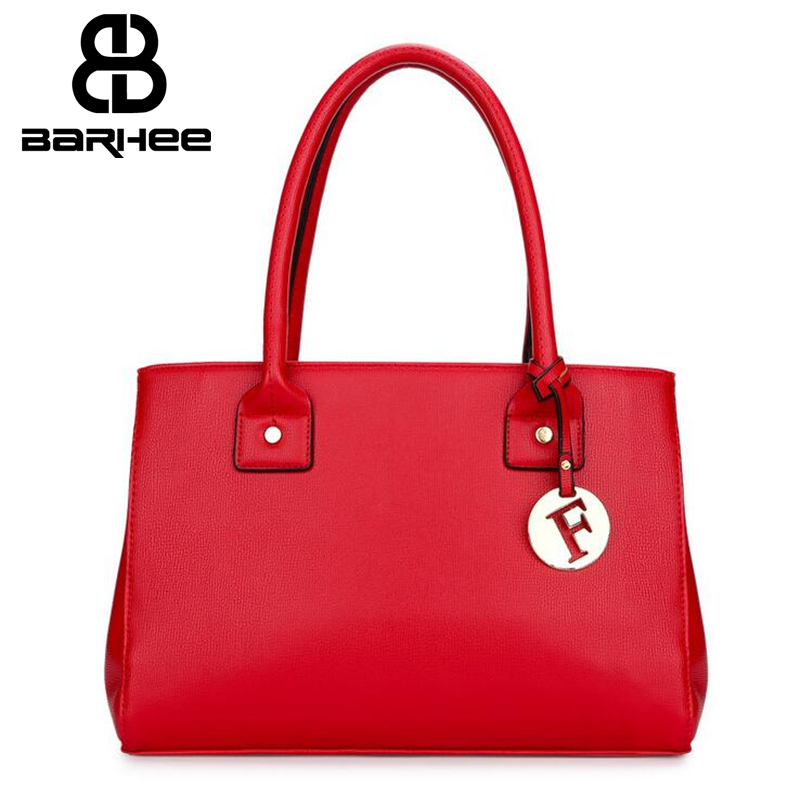 New Fashion Solid Women Handbag PU Leather Women Top-Handle Bag Tote Shoulder Bag Large Capacity Office Ladies Handbag Red Black znakomity new shoulder bag real women s genuine leather handbag wine red fashion brown black tote bag top handle hand bags women