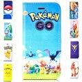 Pokemons anime animal rígido transparente capa case para apple iphone se 5 pokemons 5S pokeball ir para pikachus phone case slot para cartão