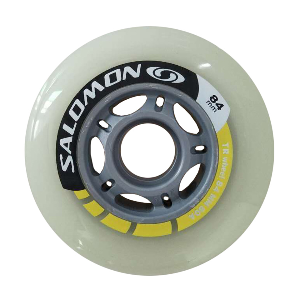 Promoting! 80A 84mm 8 pcs/Lot Inline Skate Wheels Professional Speed Free Skating Roller ...