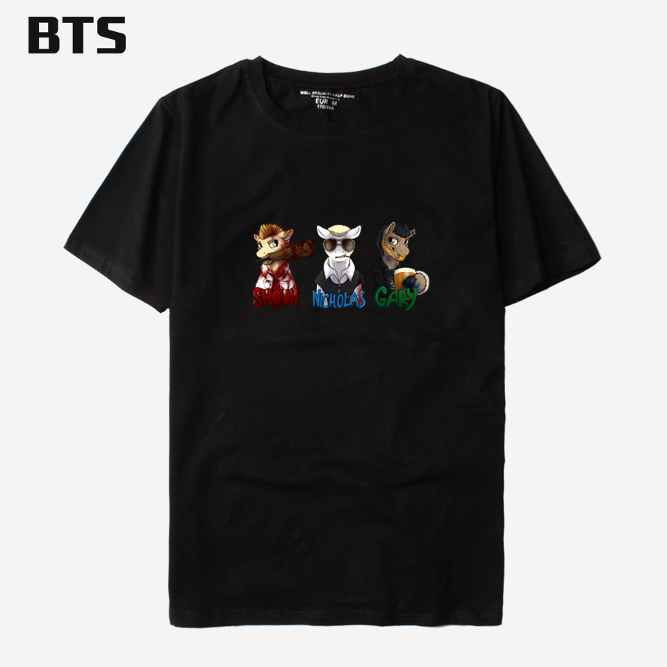 BTS Blood And Ice Cream Trilogy T Shirt Men Casual Male Men S T-shirt Men Short Fashion  ...