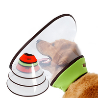 Comfy Soft Pet Dog Kitten Puppy Coat Elizabethan Cone Collars Wound Healing Remedy Recovery Protective Collar