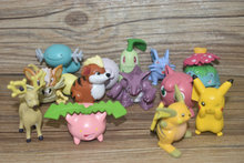13pcs Carte Mini Pokemon Action Figures  Toys Pokemon Cards Ex English Mega exs Figure Pokemon Games Pokeball Pikachu Raichu toy