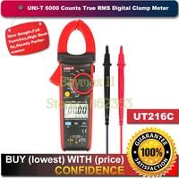 UNI T UT216C 600A True RMS Digital Clamp Meters Auto Range W Frequency Capacitance Temperature NCV