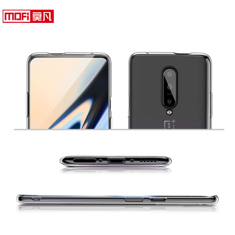 Image 2 - Oneplus 7 pro case Oneplus 7 case cover 1+7 silicon soft ultra thin funda mofi transparent back clear coque Oneplus 7 pro case-in Fitted Cases from Cellphones & Telecommunications