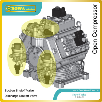 Алюминиевые запорные клапаны корпуса как клапан Dicharge компрессор открытого типа для транспортного охлаждения и других применений
