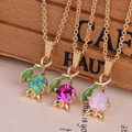 France Les Nereides Paris Enamel Crystal Pendant Necklaces Bracelet New 3 Color Gem Flower Luxurious Jewelry For Women Party