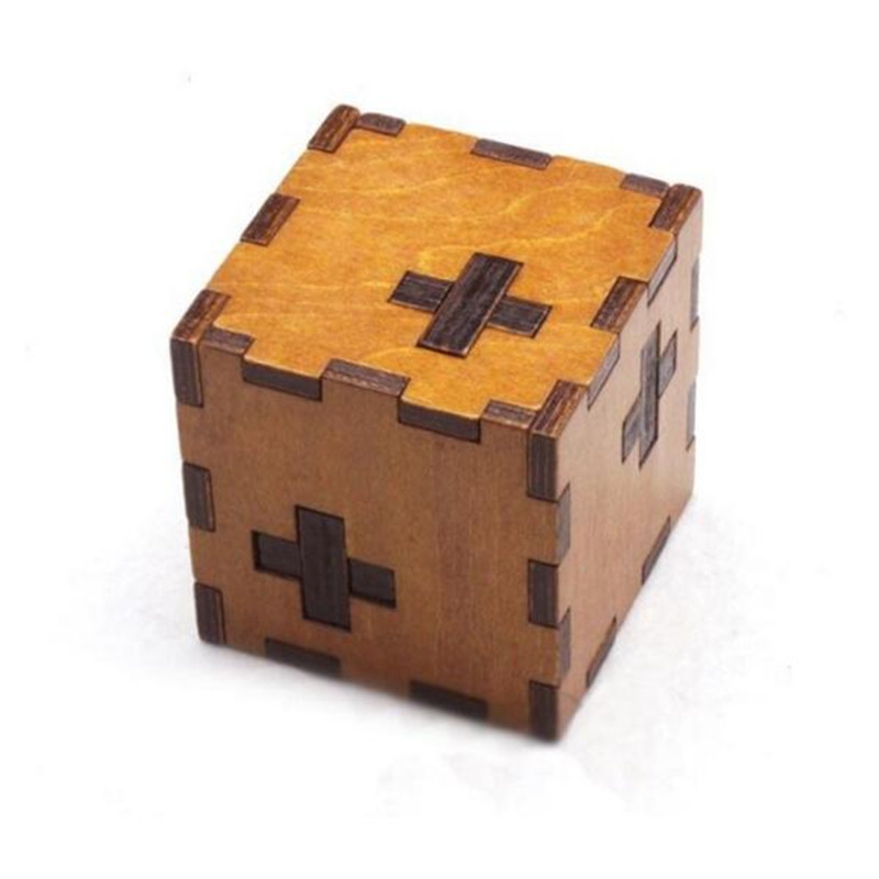 Secret Brain Teaser Puzzles Game Toy Wooden Box kids Switzerland cube Puzzle IQ Educational Wood Puzzles for children and Adult metal puzzle iq mind brain game teaser square educational toy gift for children adult kid game toy