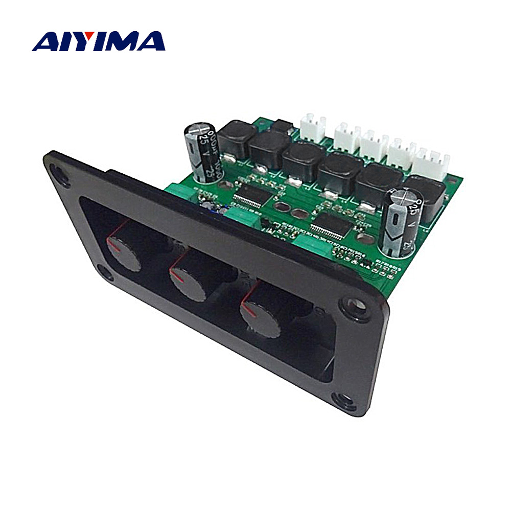 AIYIMA TPA3118DD2 Subwoofer Amplifier Board 30Wx2+60W HiFi High Power TPA3118D 2.1 Digital Audio Amplifiers With Panel