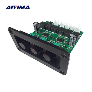 Image 1 - AIYIMA TPA3118DD2 Subwoofer Verstärker Bord 30Wx2 + 60W HiFi High Power TPA3118D 2,1 Digital Audio Verstärker Mit Panel