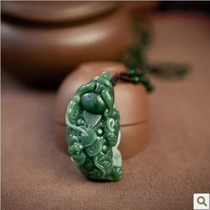 Exquisite xinjiang hetian stone pendant exquisite simple jewelry necklaces necklace collar collarbone necklace/1 letter j heart collarbone pendant necklace
