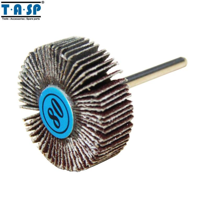 TASP 9pcs disque de ponçage de roue à lamelles abrasives - Outils abrasifs - Photo 3