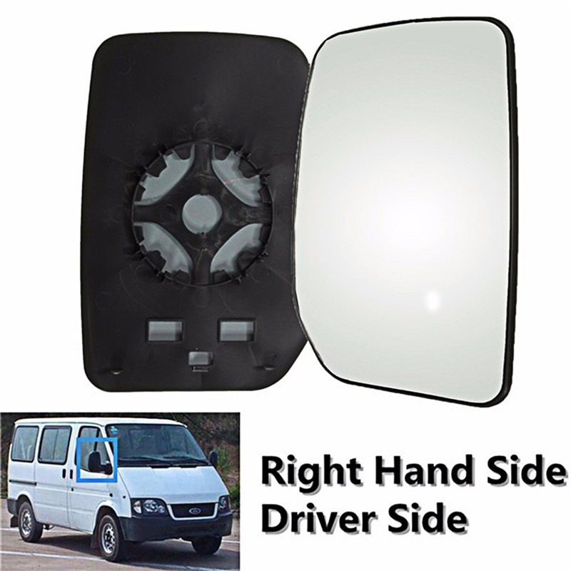 Right Driver Heated Wing Mirror Glass for FORD TRANSIT CONNECT Van 2000–2009