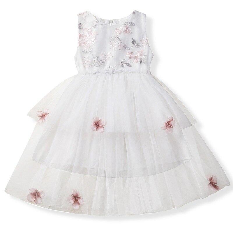 07f4b02ff5 Niemowlę dziecko dziewczyny kwiat sukienki koronkowe chrzciny suknie  noworodków dziewczyna chrzest ubrania księżniczka Tutu 1 rok