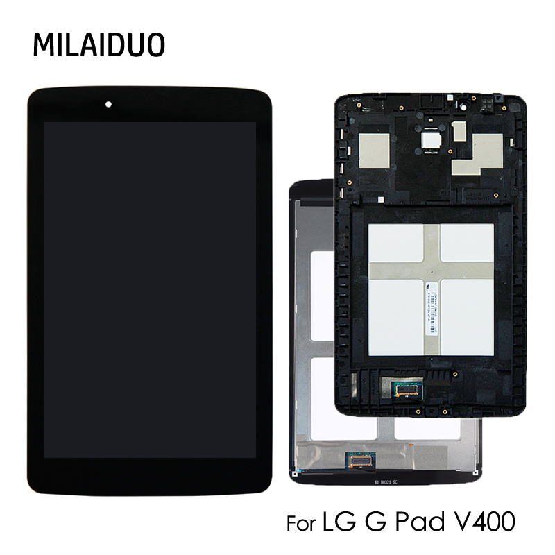 LCD Display For LG G Pad V400 V410 7.0 Touch Screen Digitizer Sensor Tablet Spare Parts Assembly Replacement Black No FrameLCD Display For LG G Pad V400 V410 7.0 Touch Screen Digitizer Sensor Tablet Spare Parts Assembly Replacement Black No Frame