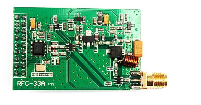 Long distance / NRF905 / wireless transceiver module (2500 m) / with heat / Continuous emission