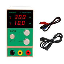 Wanptek NPS3010D 30V10A Adjustable Mini DC Regulated power supply Phone Computer Maintenance Laboratory power supply saike 1503d dc regulated power supply 15v 3a regulated adjustable laboratory power supply with usb interface