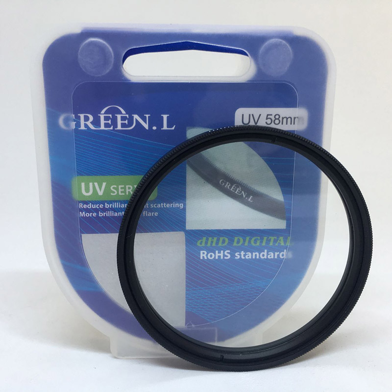 58mm green l uv