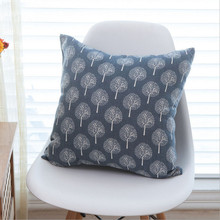 New Modern Design Cushion Cover  Without Core Linen Solid Fabric Decorative Pillowcase For Home Decoration Accept Drop Shipping