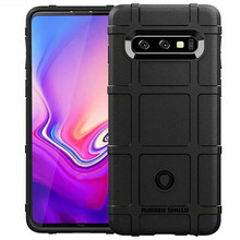 Matte Rugged Shield Shockproof Case for Samsung Galaxy S10 S9 S8 Plus Ultra Thick Rubber Protective Case for Samsung S10e S10 5G стоимость