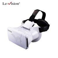 Le-الرؤية vr مربع مصغرة vr نظارات الواقع الافتراضي نظارات 3d نظارات جوجل كرتون 2.0 بوبو vr سماعة ل 3.5-6.0 الذكي