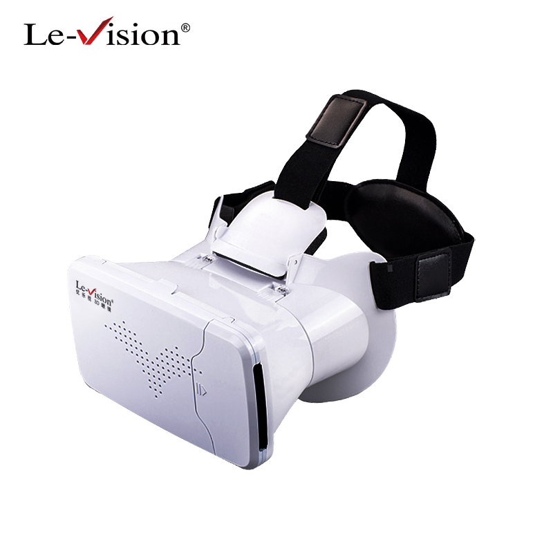 Le-Vision VR BOX Mini VR Glasses Virtual Reality Goggles 3D Glasses Google Cardboard 2.0 BOBO VR Headset For 3.5-6.0 Smartphone dream vision 3d glasses edge 1 2 by volfoni