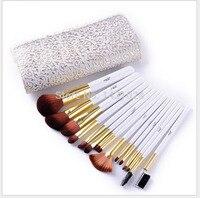 High End Quality 15 Pcs Makeup Brush Set Professional Makeup Toiletry Kit Make Up Brush Set