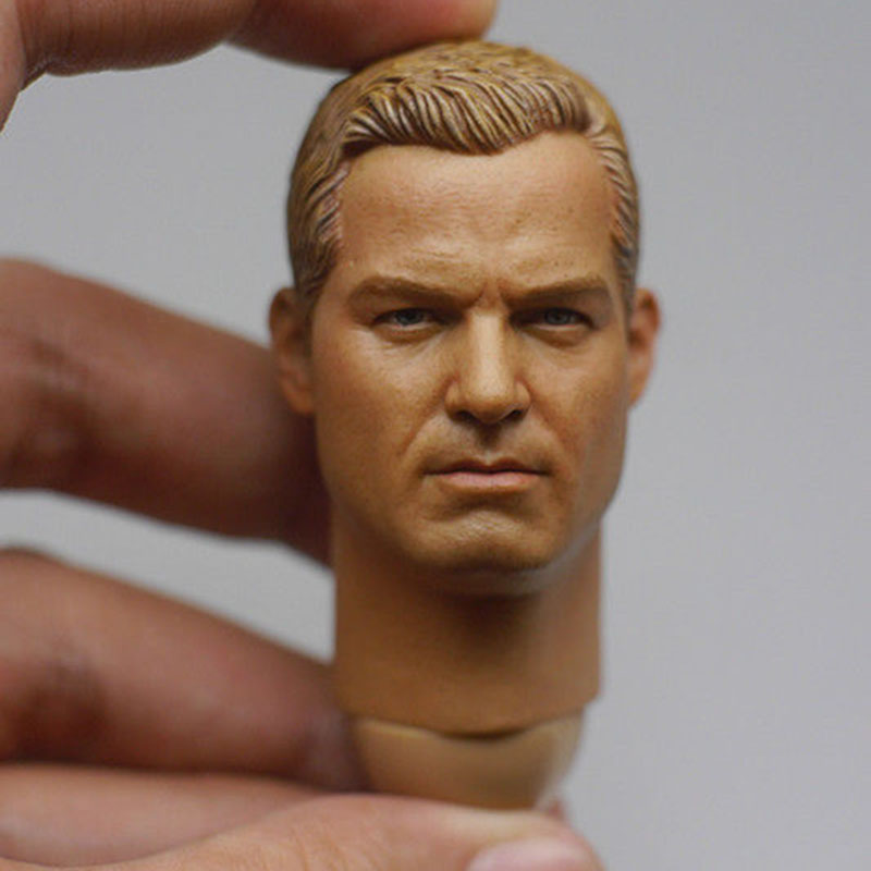 Custom 1/6 US NAVY Cpt. Tom Chandler Head Sculpt Eric Dane US Actor Collections for 12 Male Body Figures the plural actor