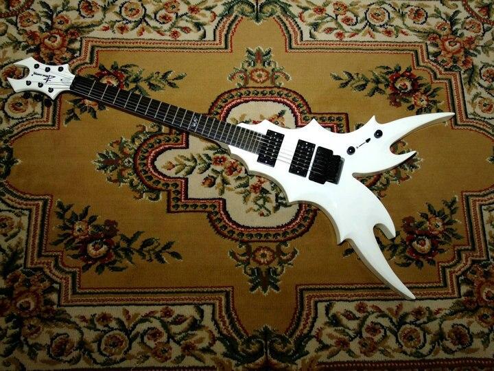 Custom shop special electric guitar flying v electric guitar floyd rose bridge ebony fingerboard