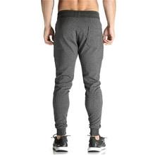 2018 Men Full Crand Sportswear Pants Casual Elastic Cotton Mens Fitness Workout Pants Skinny Sweatpants Trousers joggers Pants