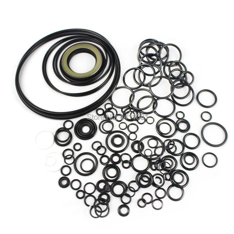 For Komatsu PC200 7 Hydraulic Pump Seal Repair Service Kit Excavator Oil Seals, 3 month warranty