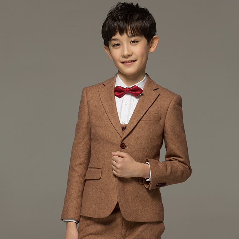 brand boy clothes68wool kids baby boy formal wedding suits set toddler boy prom suits